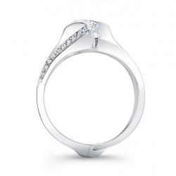 Diamond Bridal Set - 7884S - Profile