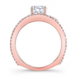 Rose Gold Engagement Ring - 7894LP