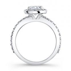 Halo Bridal Set - 7895S