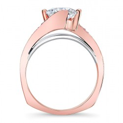 Rose Gold Engagement Ring - 7922LT