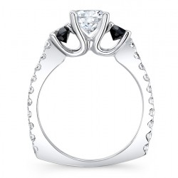 Black Diamond Engagement Ring - 7925LBK