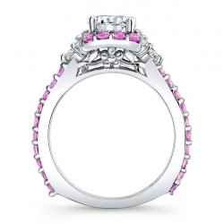 Pink Sapphire Engagement Ring - 7930LPS