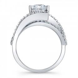 Princess Cut Engagement Ring 7935L Profile