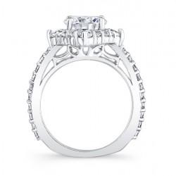 Halo Bridal Set 7967S Profile