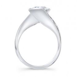 Princess Cut Engagement Ring 7970L Profile