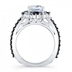 Black Diamond Bridal Set 8006SBK Profile