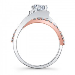 Diamond Engagement Ring 8033LTP Profile
