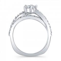 Unique Engagement Ring 8034L Profile