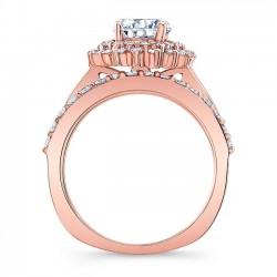 Rose Gold Bridal Set 8063SP Profile