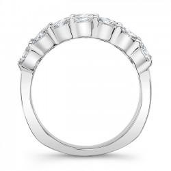 White Gold Wedding Band 8068L Profile