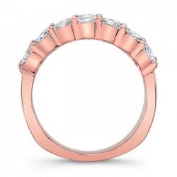Rose Gold Wedding Band 8068LP Profile