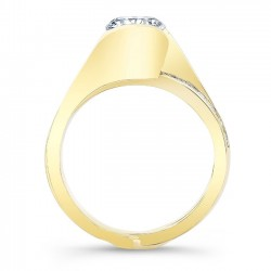 Yellow Gold Bridal Set 8092SY Profile