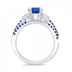 Blue Sapphire Bridal Set BSC-7539SBS Profile