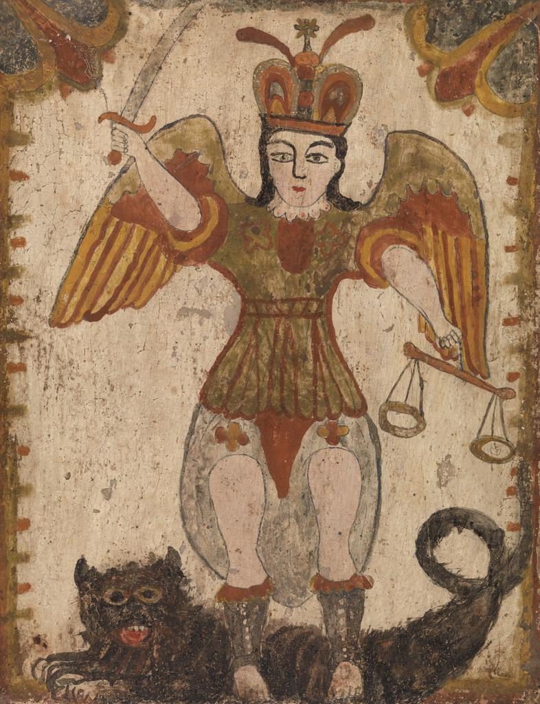 barnes collection online new mexican archangel saint michael san