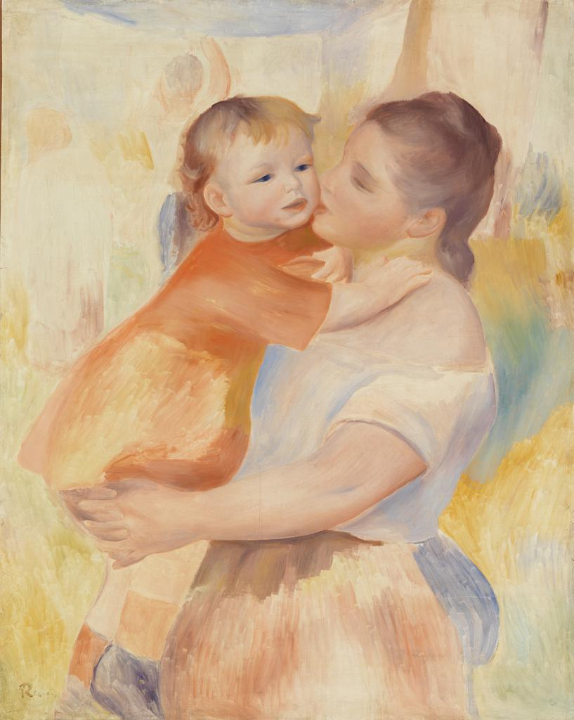 Washerwoman and Child (La Blanchisseuse et son enfant)