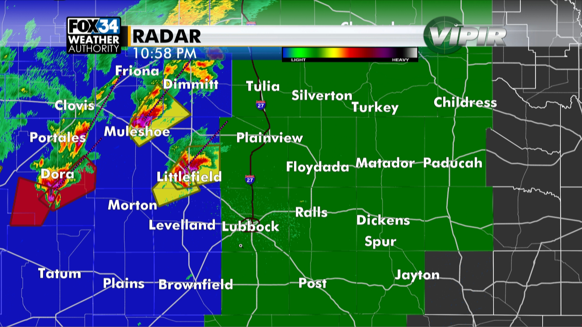 Severe thunderstorm watch until 7 a m  for Lubbock, South Plains