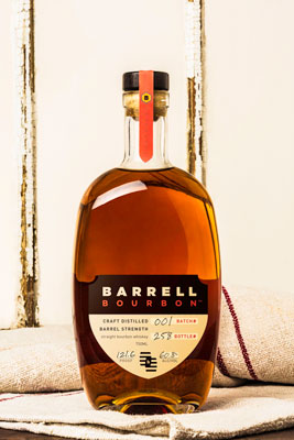 Barrell Bourbon Batch 001 on cloth