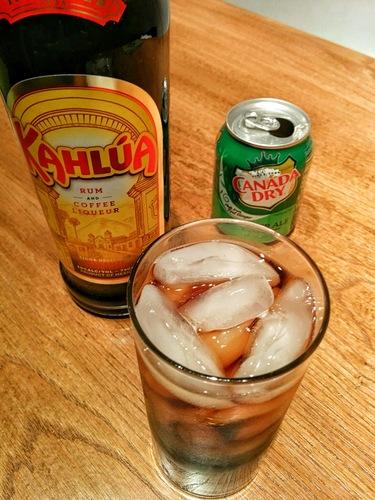 Kahlua Ginger Ale