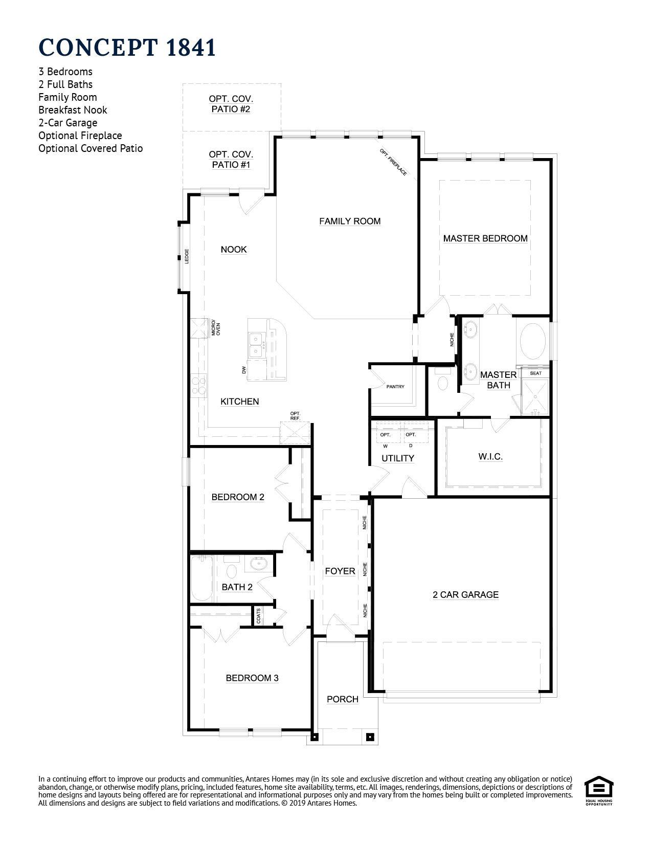 Concept 1841 Floor Plan