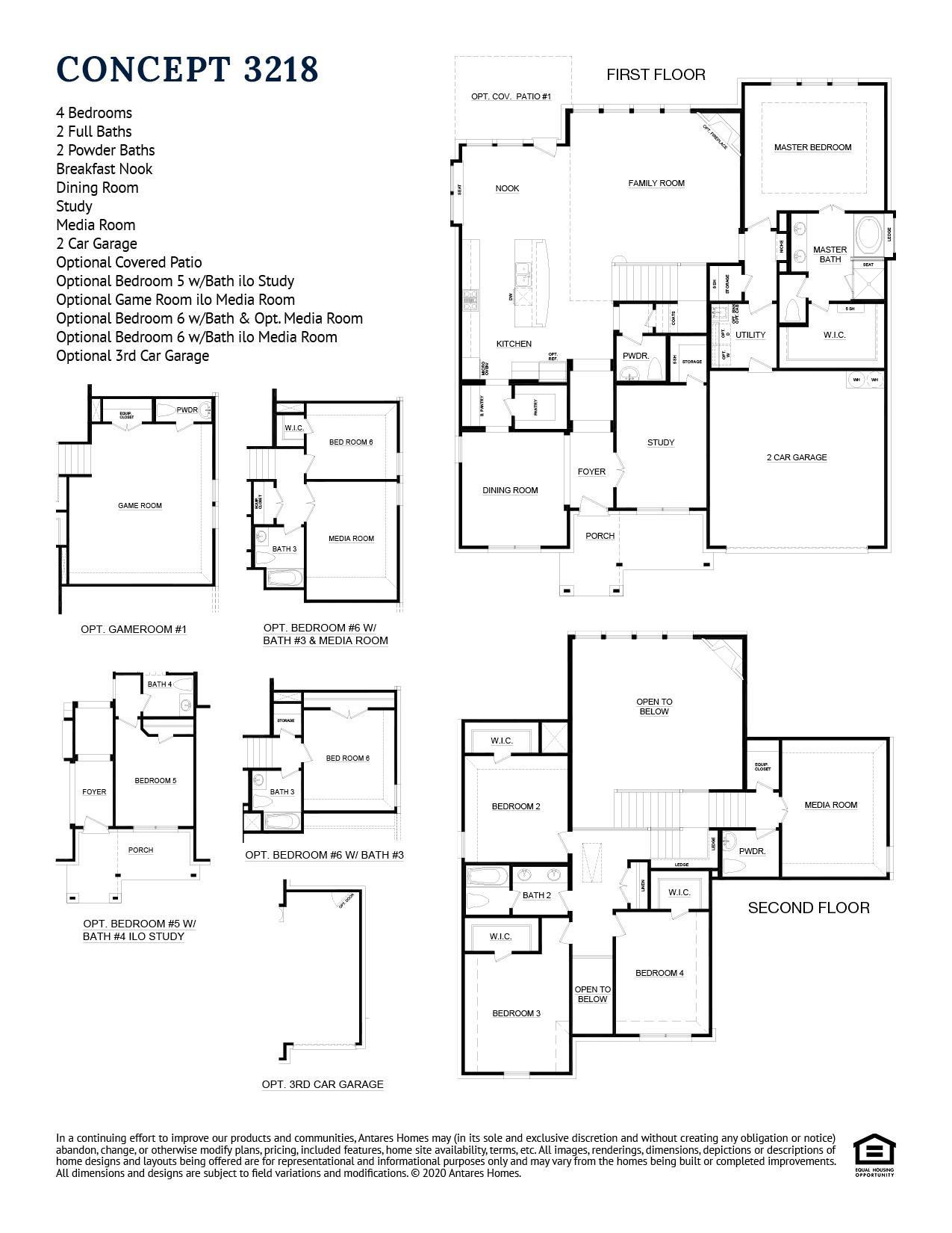 Concept 3218 Floorplan