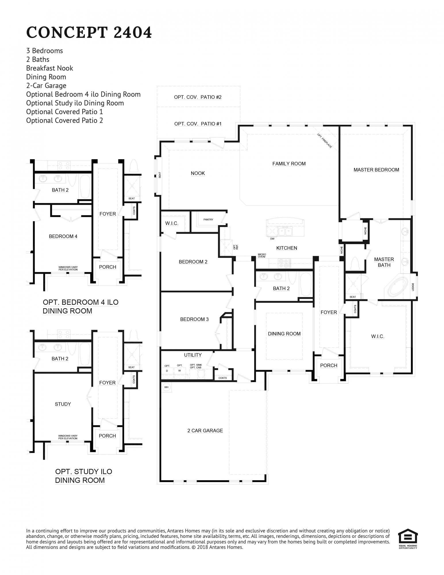 Concept 2404 Floorplan
