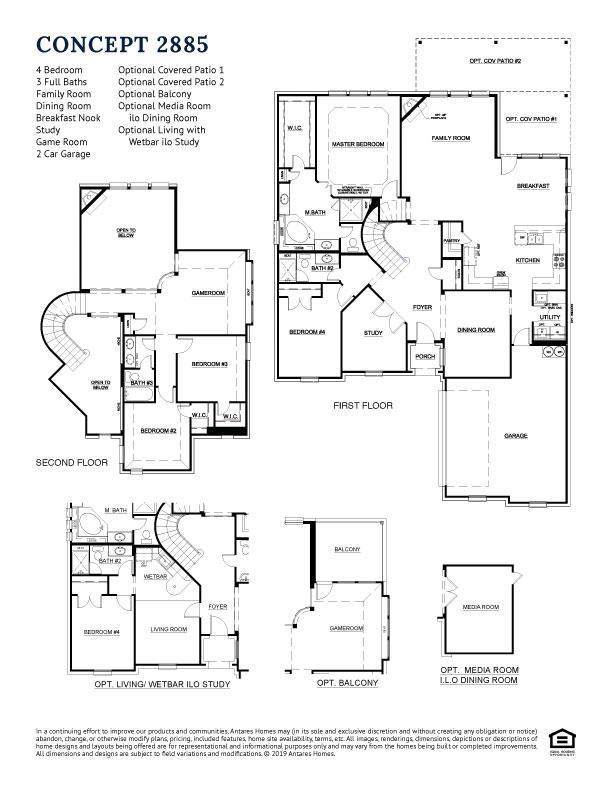 Concept 2885 Floorplan