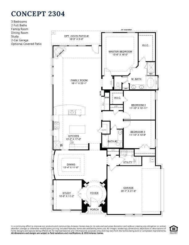Concept 2304 Floorplan