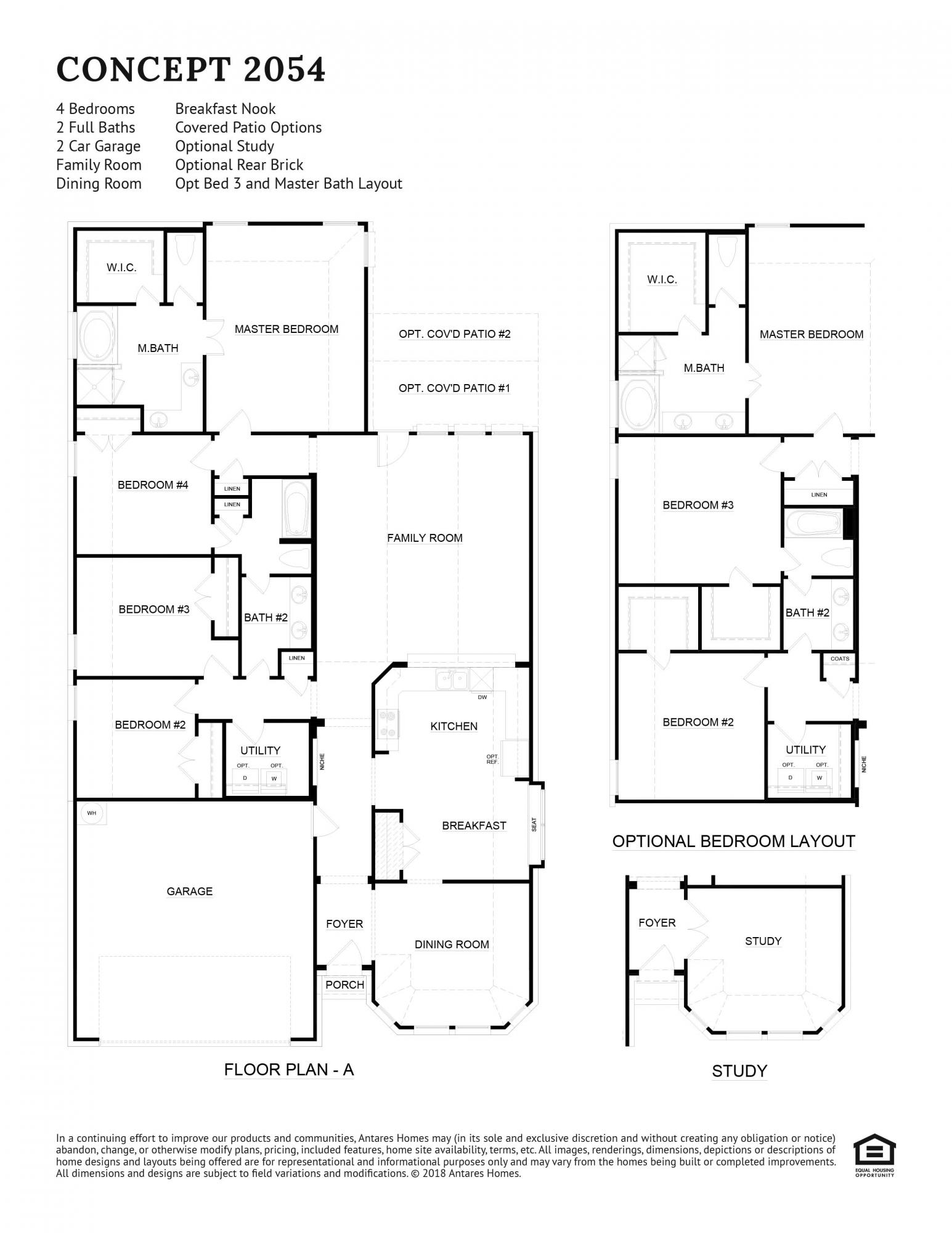Concept 2054 Floorplan