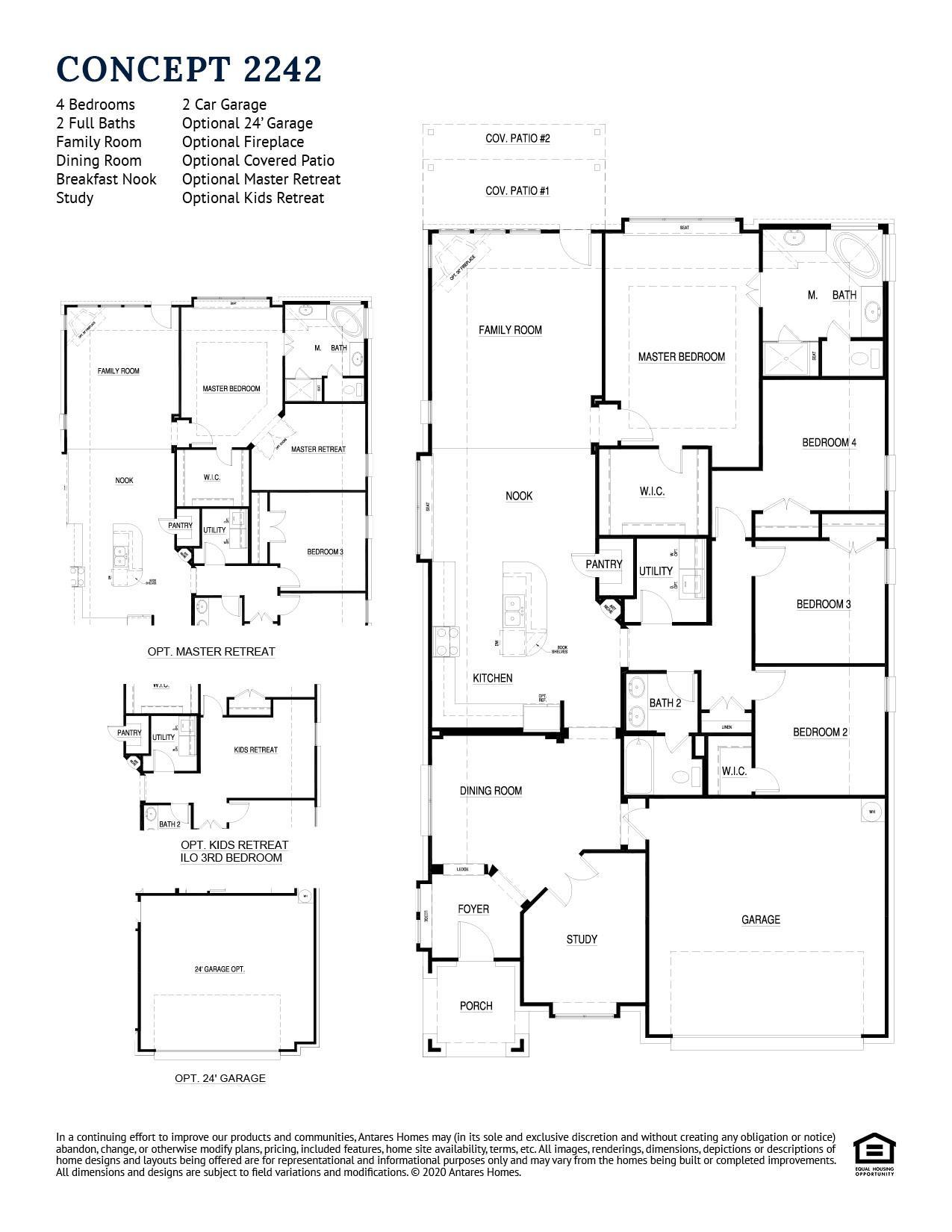 Concept 2242 Floor plan