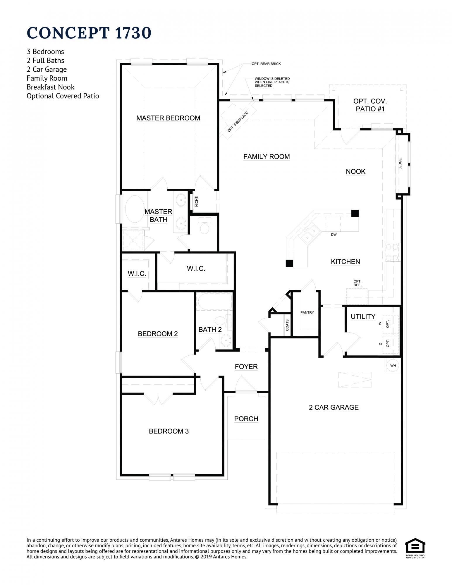 Concept 1730 Floor Plan