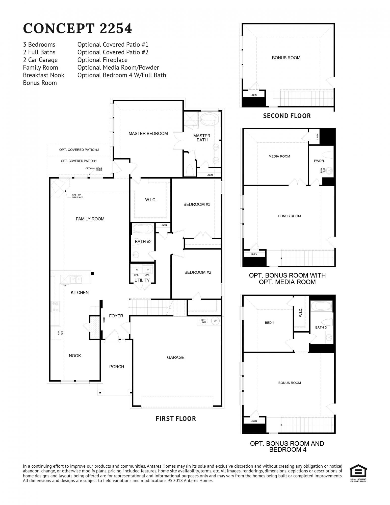 Concept 2254 Floorplan