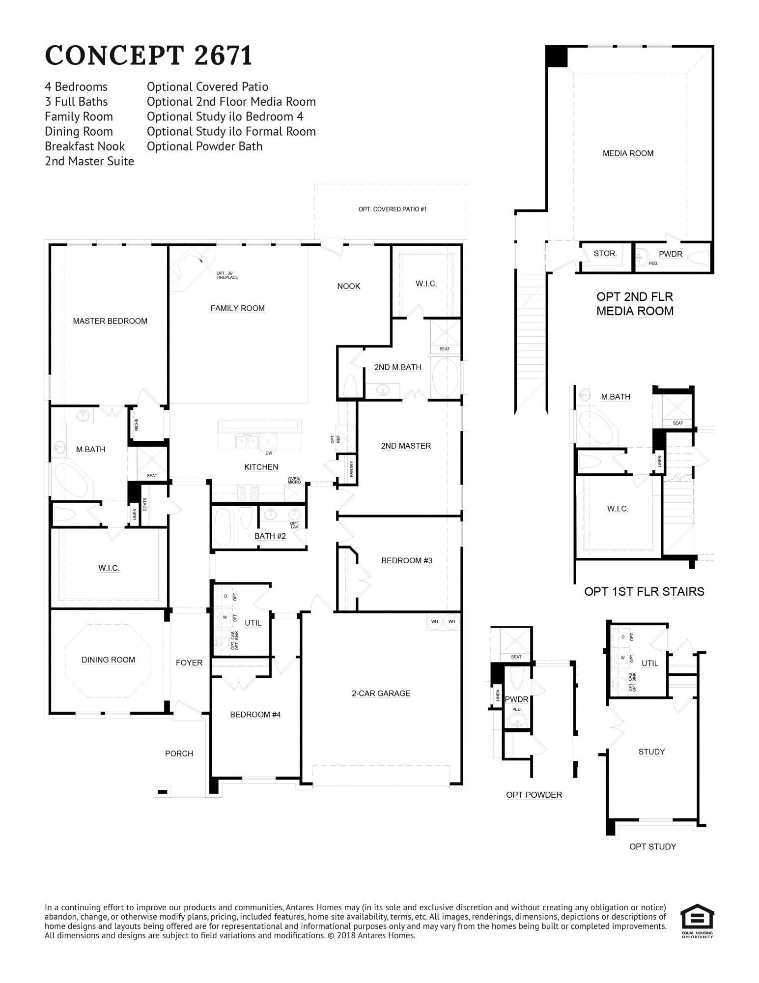 Concept 2671 Floorplan