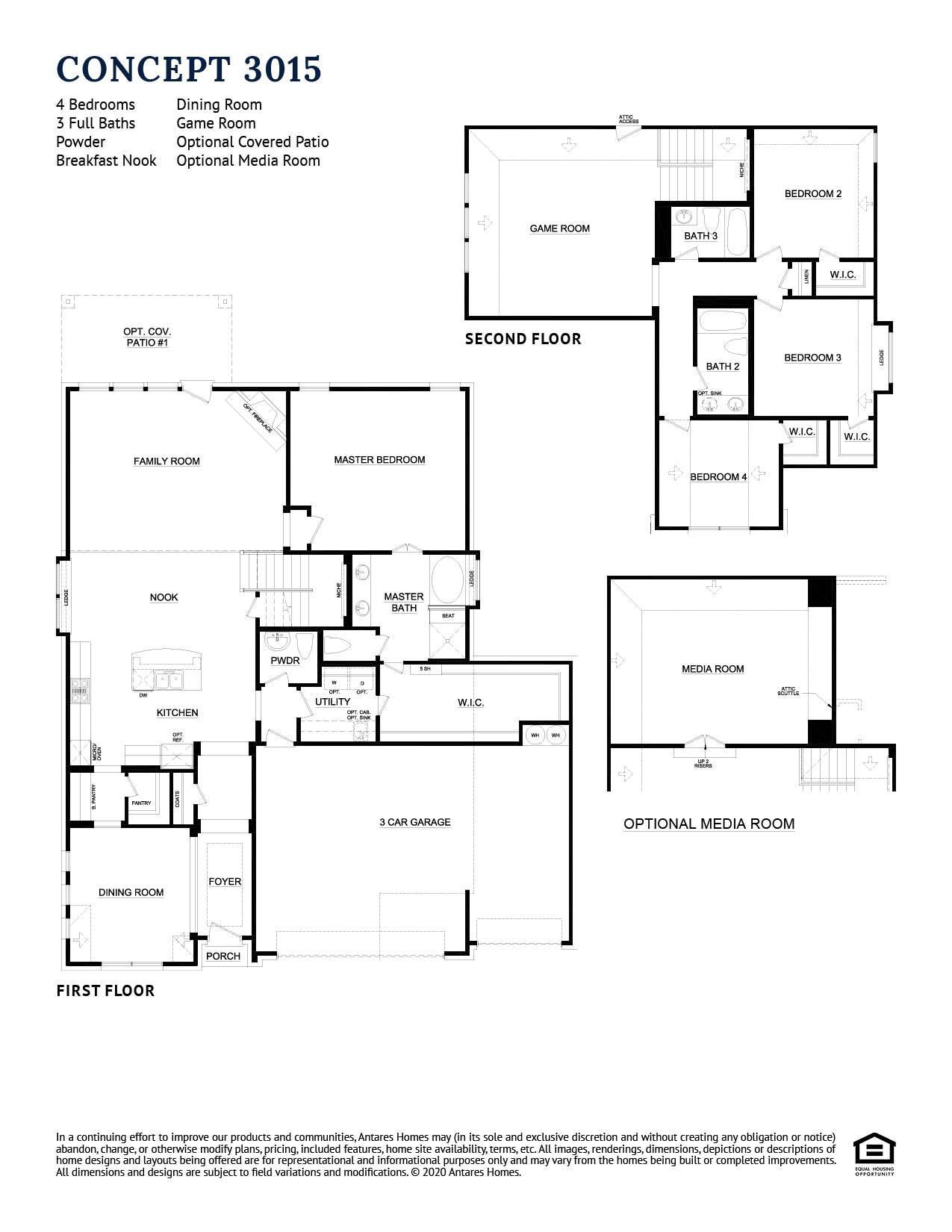 Concept 3015 Floorplan