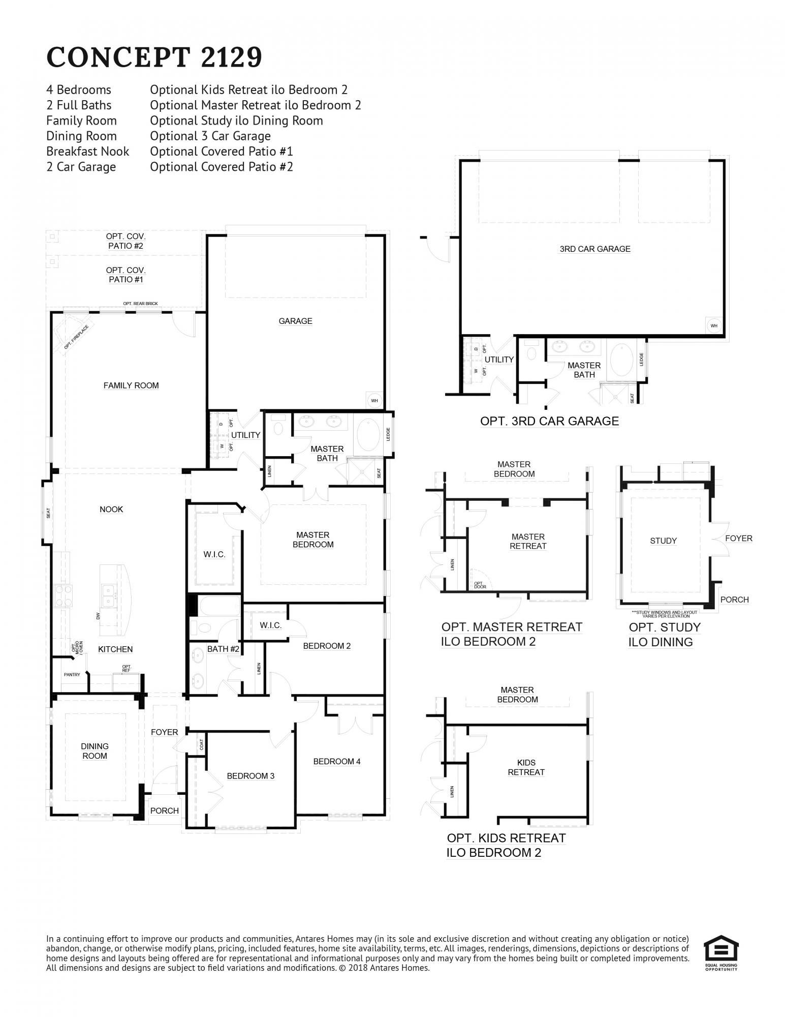 Concept 2129 Floorplan