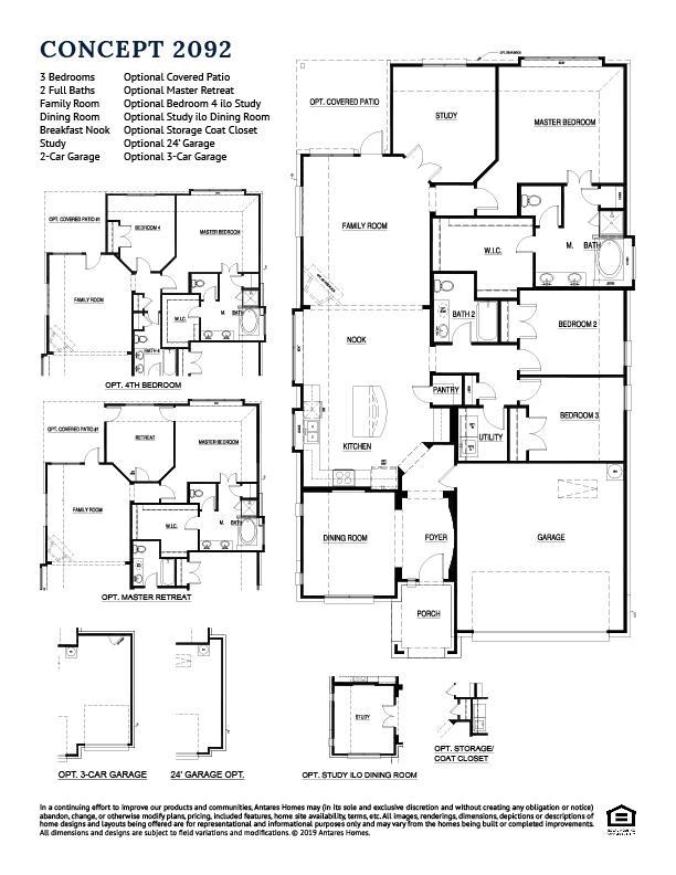 Concept 2092 Floorplan