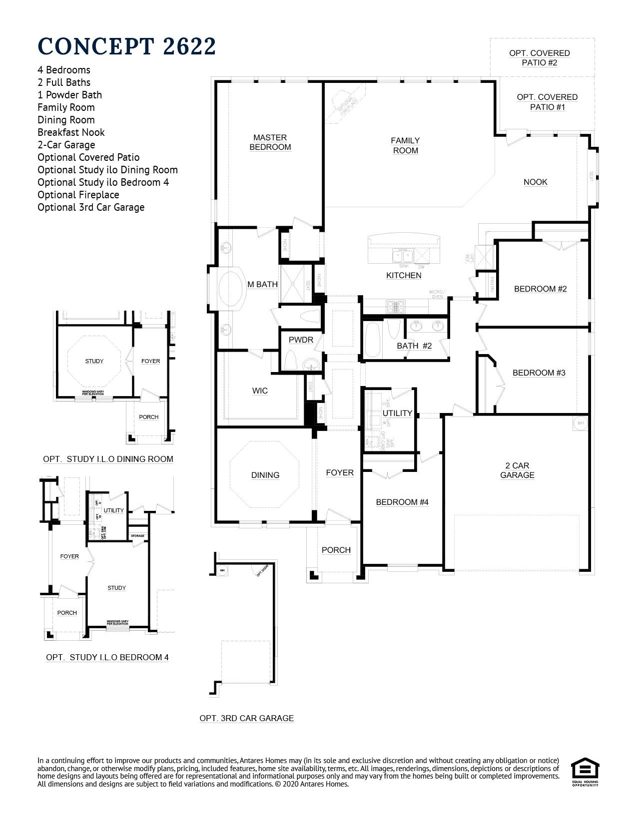 Concept 2622 Floorplan