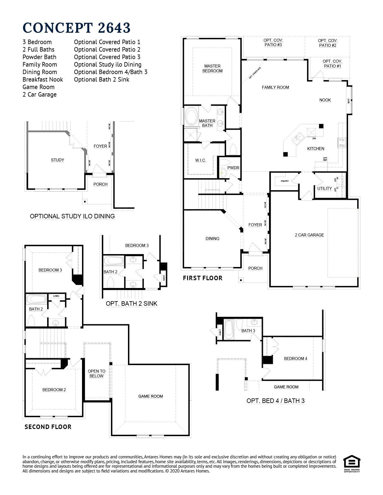 Concept 2643 Floorplan