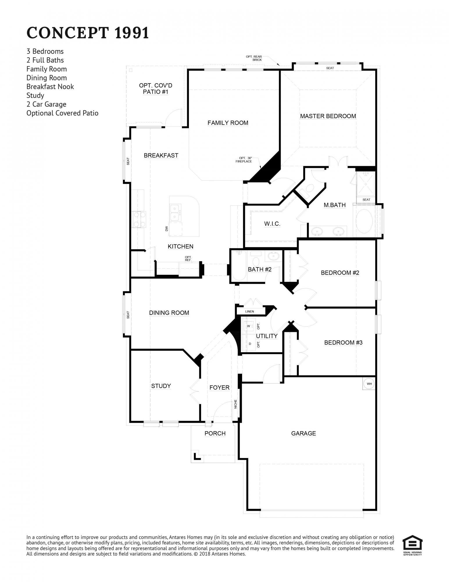 Concept 1991 Floorplan