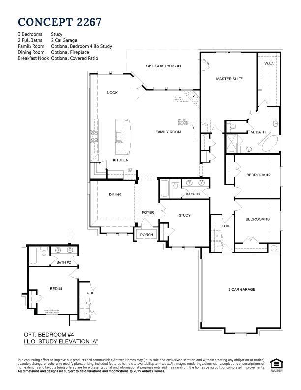 Concept 2267 Floorplan