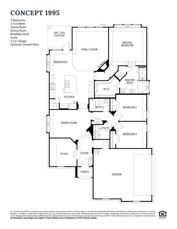 Concept 1995 Floor Plan