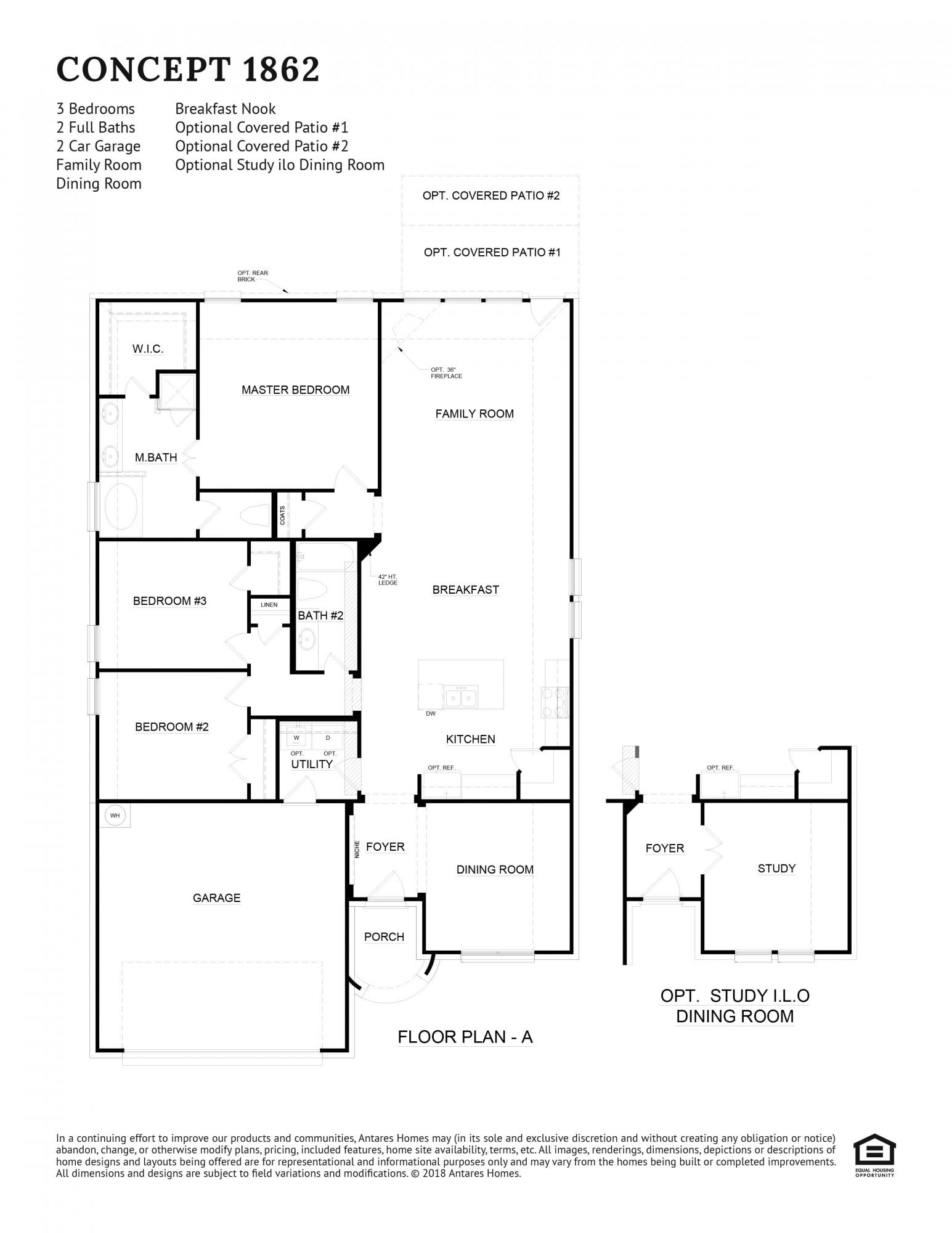 Concept 1862 Floorplan