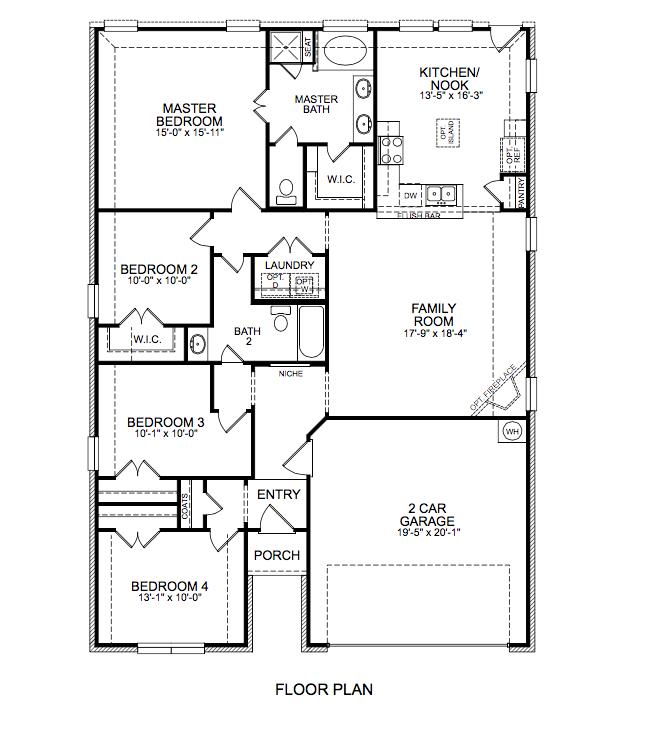 1758 Floor Plan