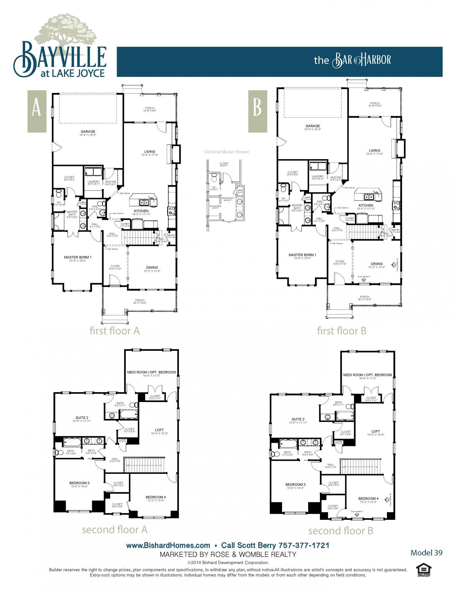 Bar Harbor Floor Plan Jpg