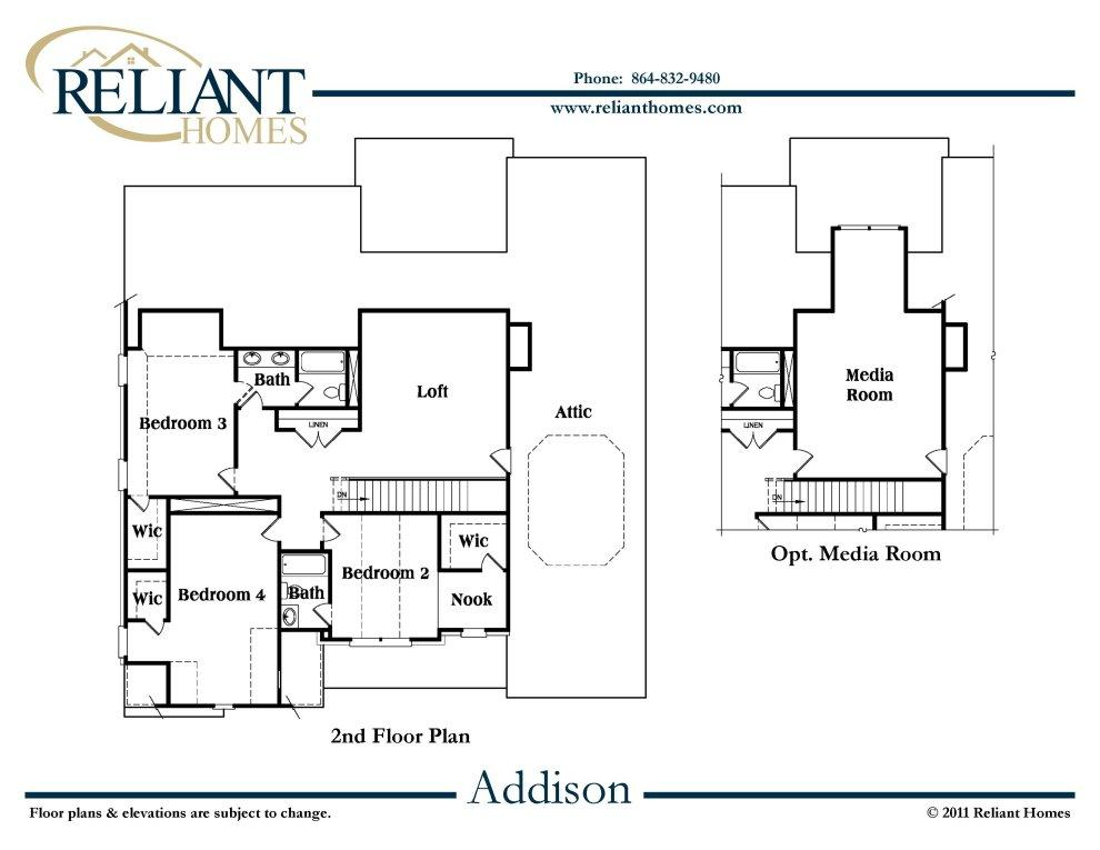 Sc Addison Reliant Homes New Homes In Atlanta