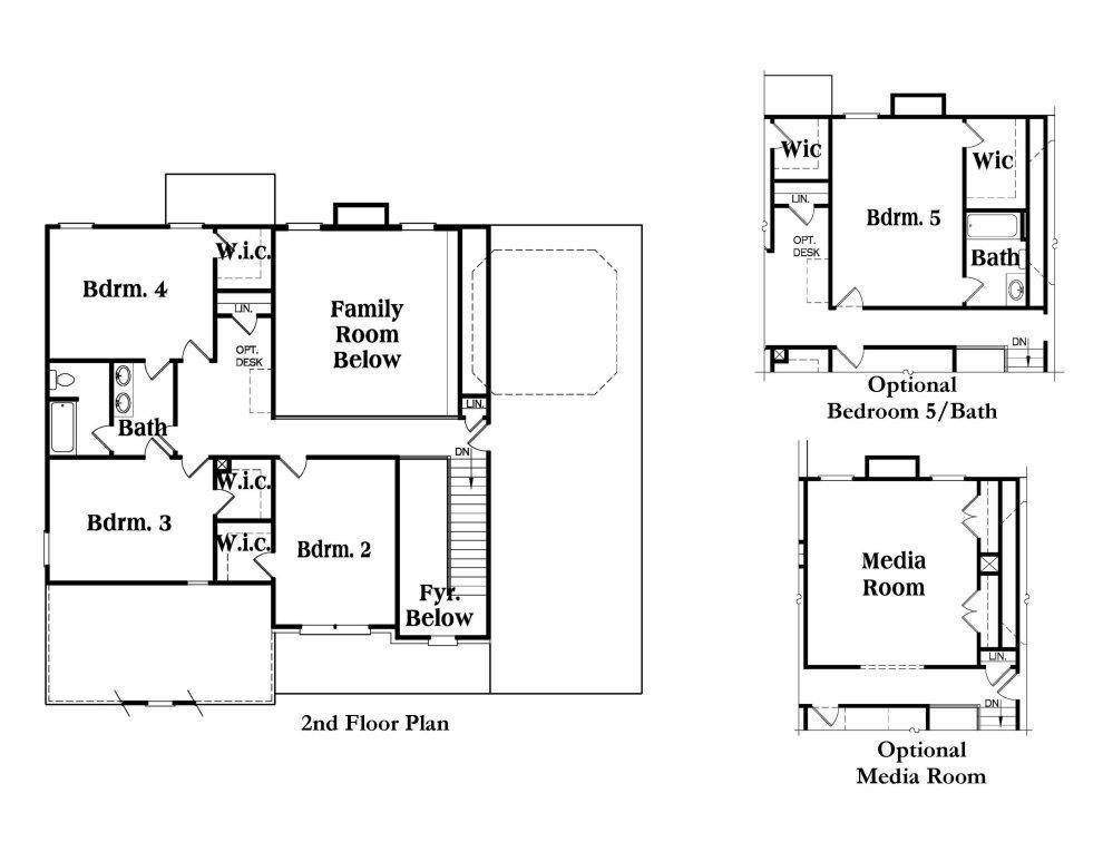 Kirkland b fe reliant homes new homes in atlanta for Reliant homes floor plans