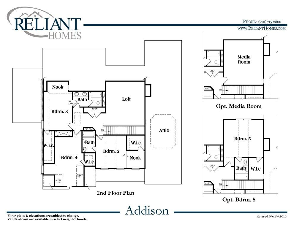 addison b se reliant homes new homes in atlanta