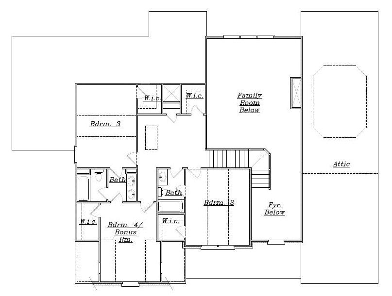 1200 weston way monroe new homes reliant homes for Reliant homes floor plans