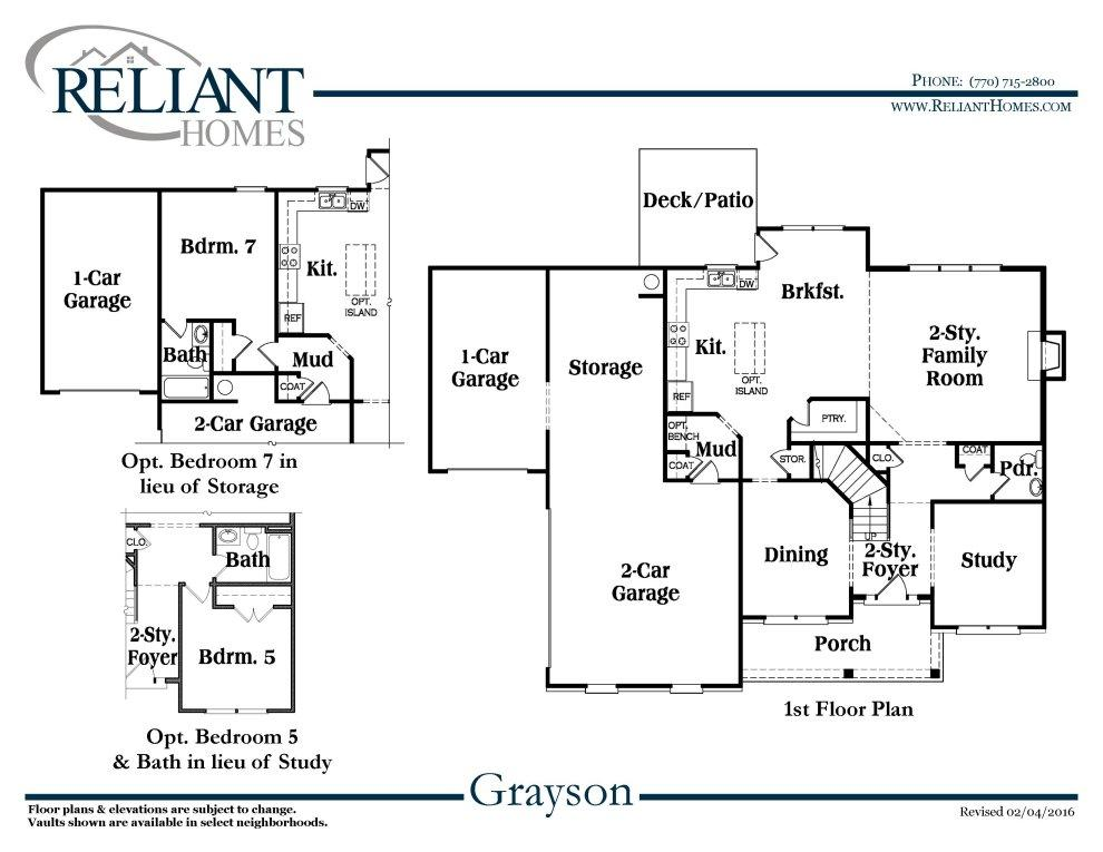Ranch With Bonus 1862 Sq Ft furthermore Home detail furthermore Sc Bridgewater B further Ashbrook B Se moreover 425. on reliant homes floor plans