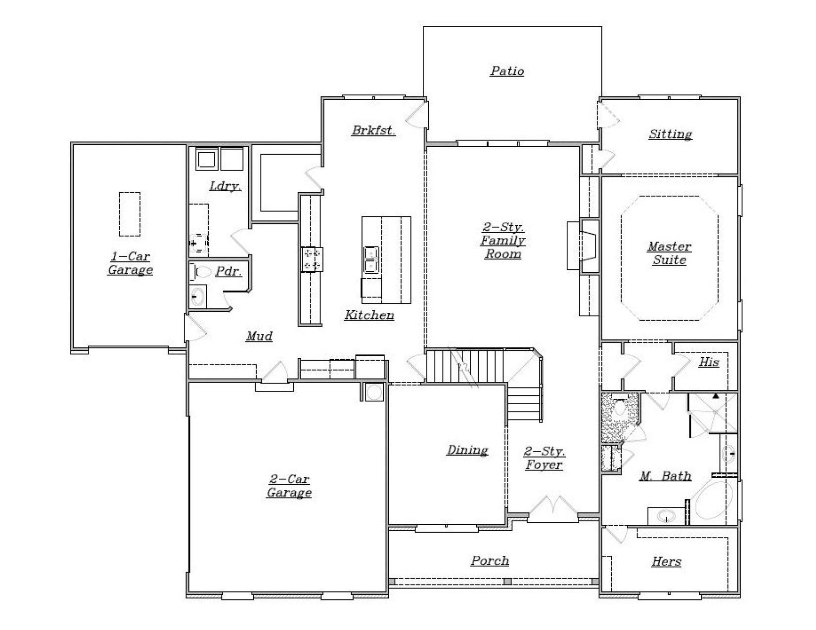 Cooper a se reliant homes new homes in atlanta for Reliant homes floor plans