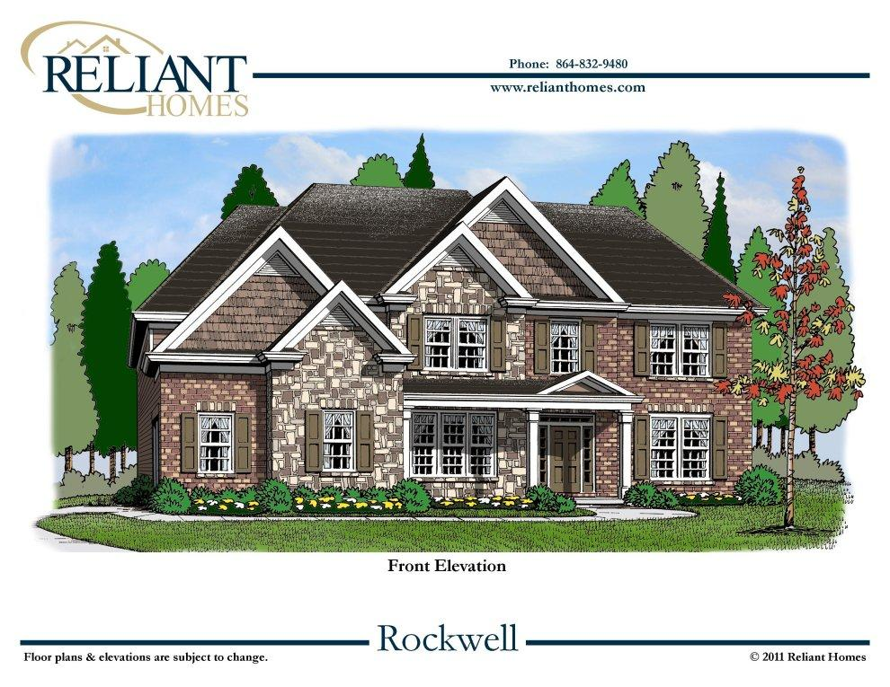 Sc rockwell reliant homes new homes in atlanta for Reliant homes floor plans